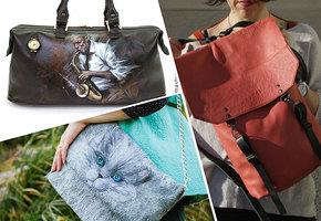 15 самых интересных hand-made сумок на Ярмарке мастеров