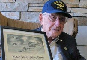 96-летний ветеран Второй мировой войны получил диплом университета