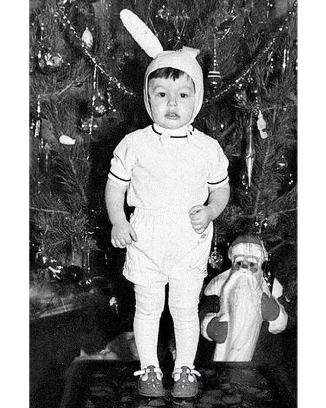 Тимур в детстве. Фото из семейного архива