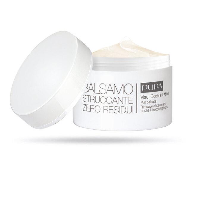 Бальзам для снятия макияжа c экстрактом календулы, пчелиным воском, маслами карите и какао Zero Residue, Pupa