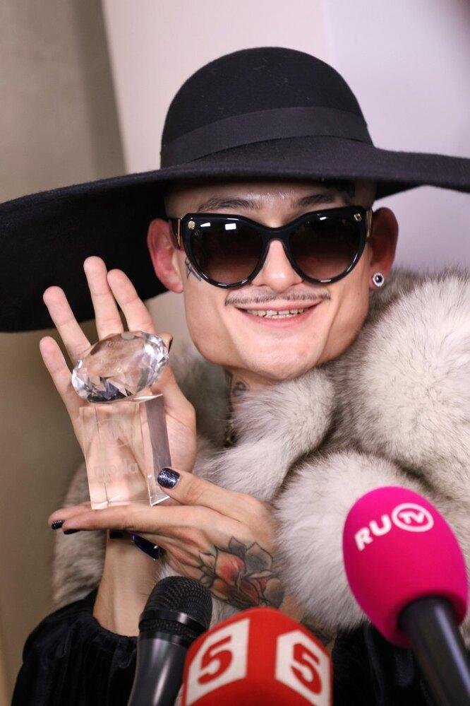 Моргенштерн на премии Topical Style Awards