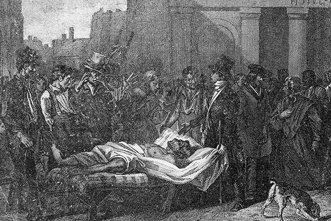 «Год безлета»: последствия аномального холода в1816 году