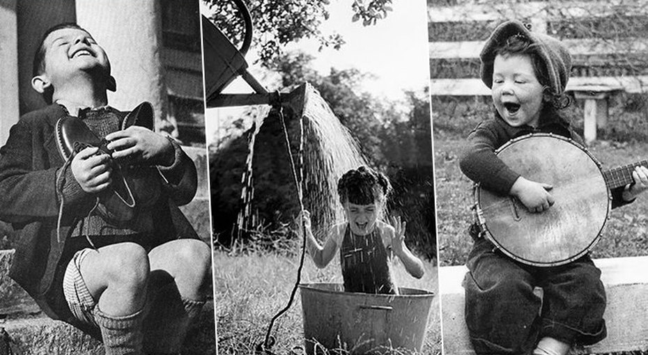 Исторические фото, которые доказывают, что дети — всегда дети