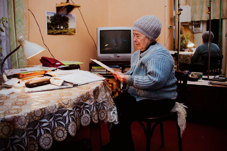 бабушка, одиночество