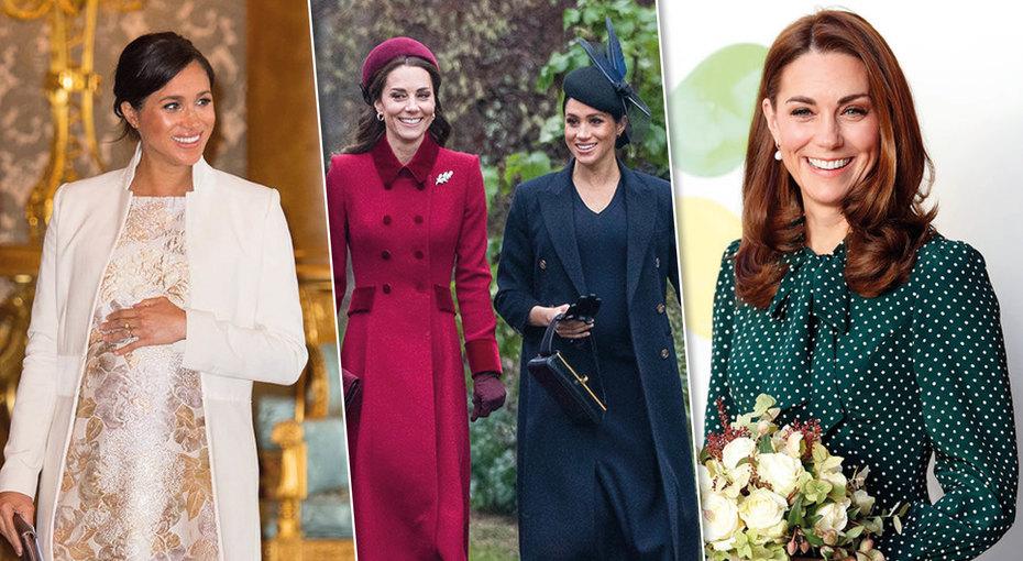 Королевы моды: секреты стиля Кейт Миддлтон иМеган Маркл
