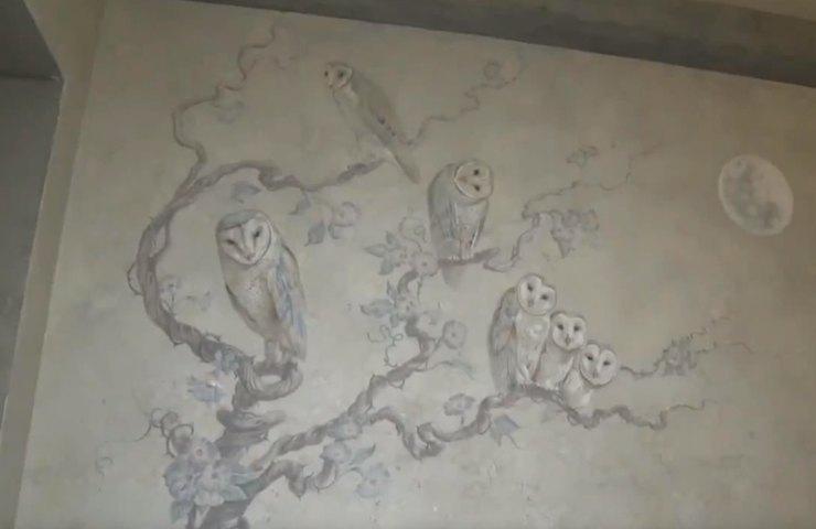совы фреска