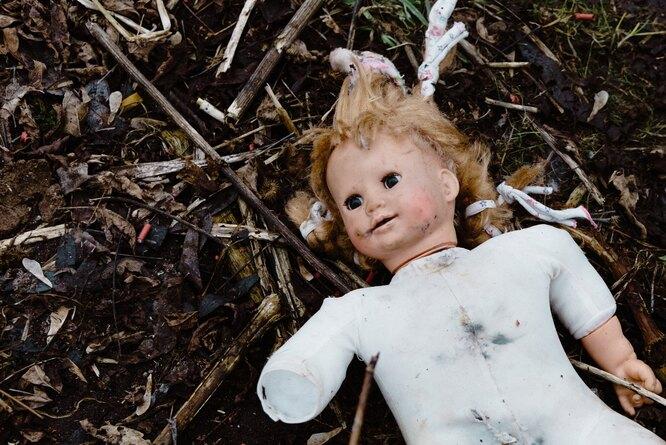 кукла сломанная домашнее насилие