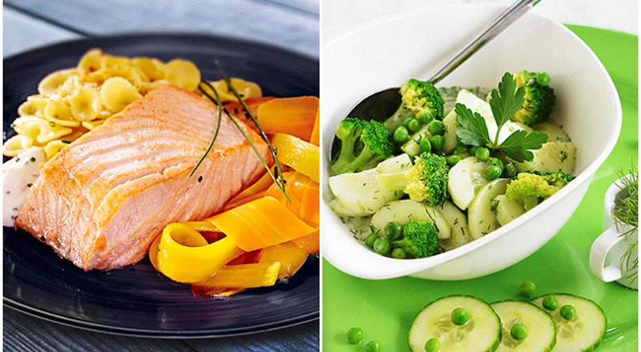 Цветовая диета: красный, желтый, зеленый!