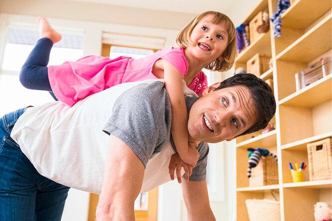 Как привлечь папу квоспитанию детей
