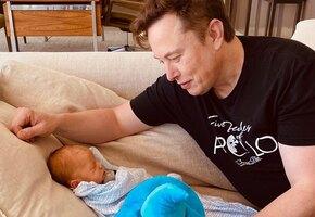«Где он находит время?» Поклонников Илона Маска восхитило его видео с 1,5-месячным сыном