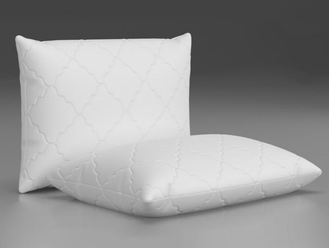 Askona, Анатомическая подушка для сна на боку Glossy, 1900 руб