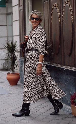 Маргарита Аргуэльес в легком платье