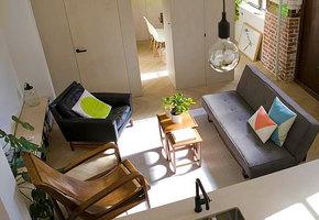 Как небольшая пекарня превратилась в двухуровневую квартиру со всеми удобствами