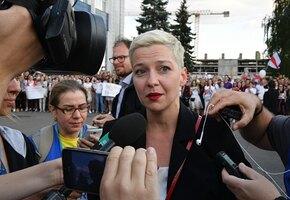 В Минске похищена Мария Колесникова — одна из героинь белорусского протеста