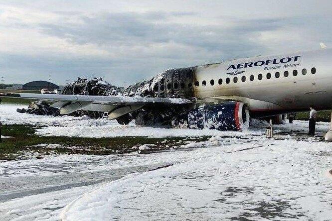 Мать-одиночка погибла, пытаясь спасти детей вгорящем самолете