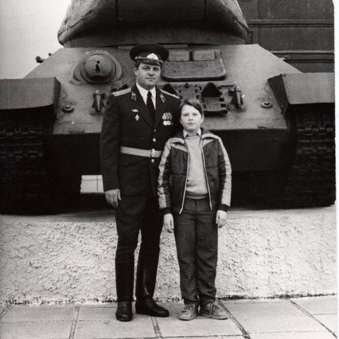 Николай Басков с отцом