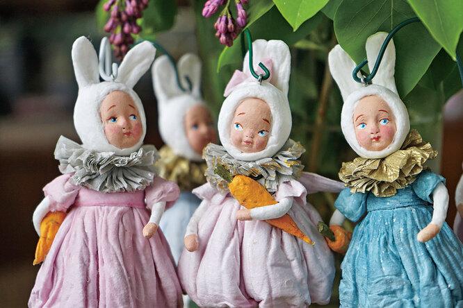 Ватная игрушка: как любовь кней вдохнула новую жизнь вобычную деревню