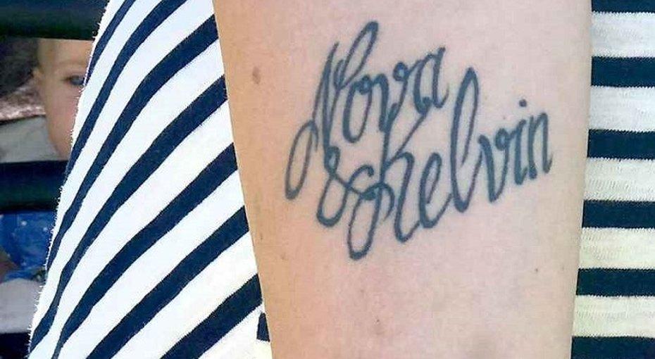 Женщина изШвеции сменила сыну имя из-за ошибки втатуировке