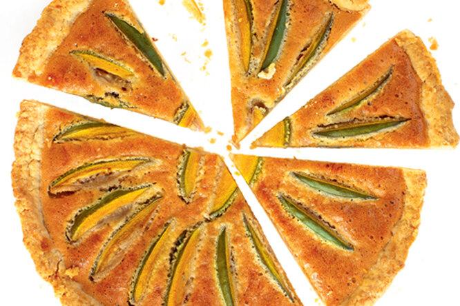Пирог с фейхоа