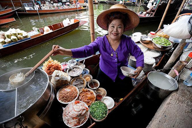 Тайская уличная еда. Ожидания