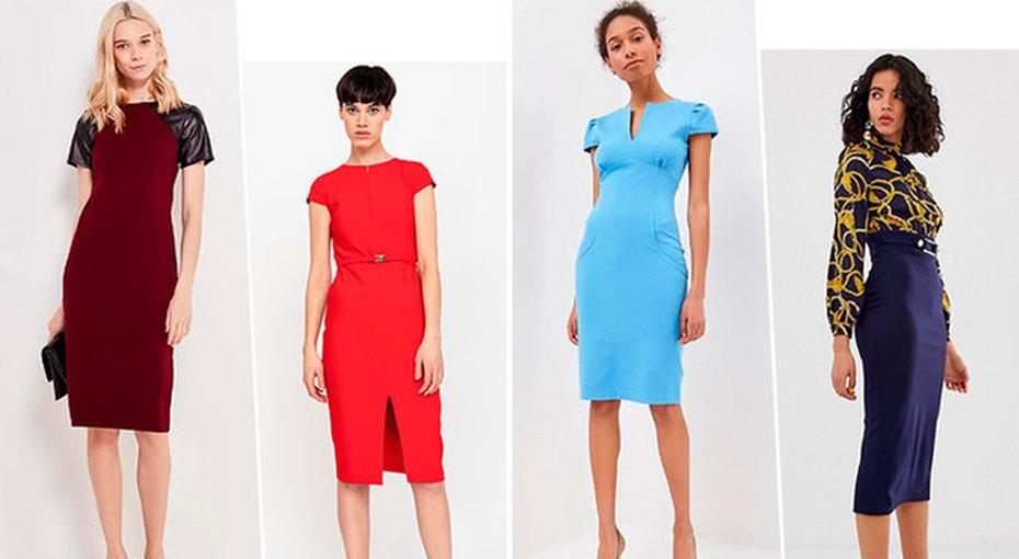 Офисный дресс-код: выбираем стильные платья-футляры