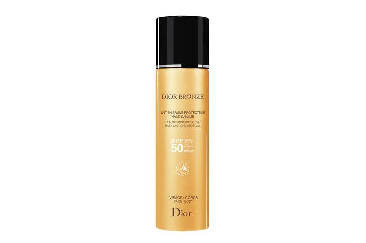 Солнцезащитное молочко-дымка Dior Bronze SPF 50, Dior