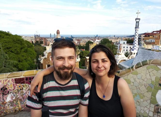 Даниил и Ольга, дети Натальи Замаевой