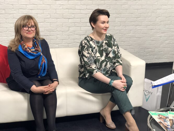 Марина Щедровицкая и Галина Наумчик