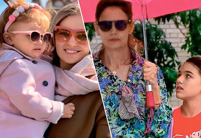 В одном стиле: модные осенние образы для мам и детей