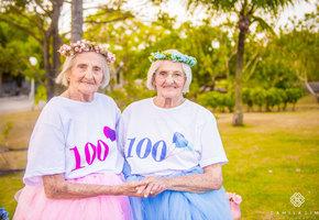 Вечеринка года: 100-летний юбилей сестер-близняшек