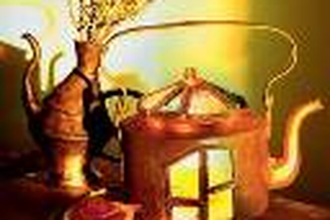 Лампа — «Чайник Алладина»