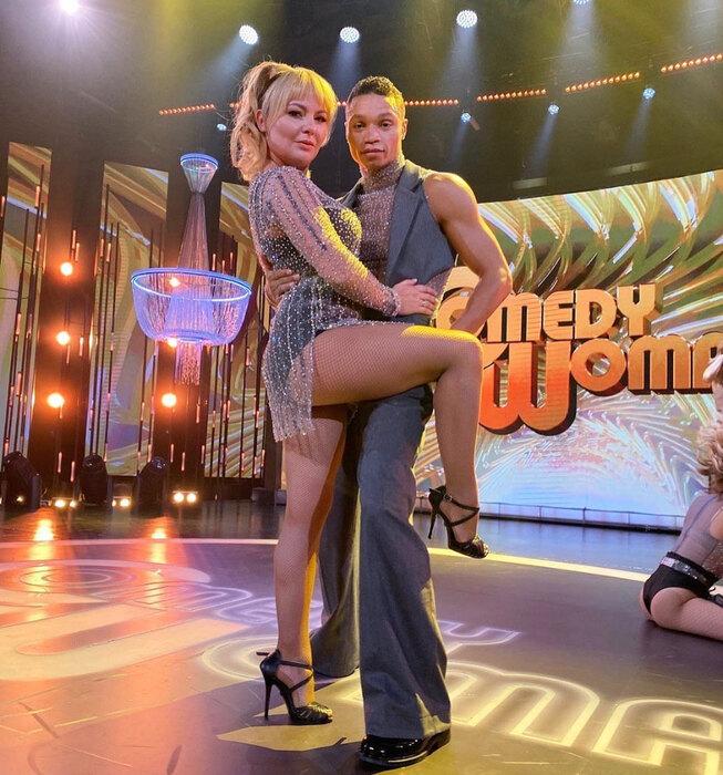 Татьяна Морозова вдерзком сценическом образе