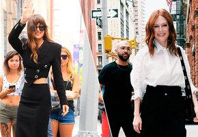 Черно-белый стиль: шесть лучших нарядов знаменитостей