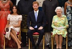 Елизавета II поддержала решение внука о самостоятельности