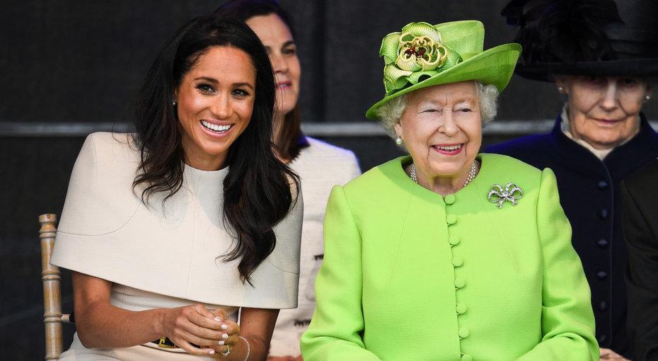 Королева Елизавета заставила Меган Маркл заморозить яйцеклетки ипройти тест наспособность рожать наследников