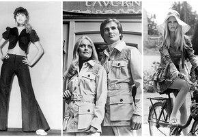 Яркие и нелепые: тренды из 70-х, которые снова в моде
