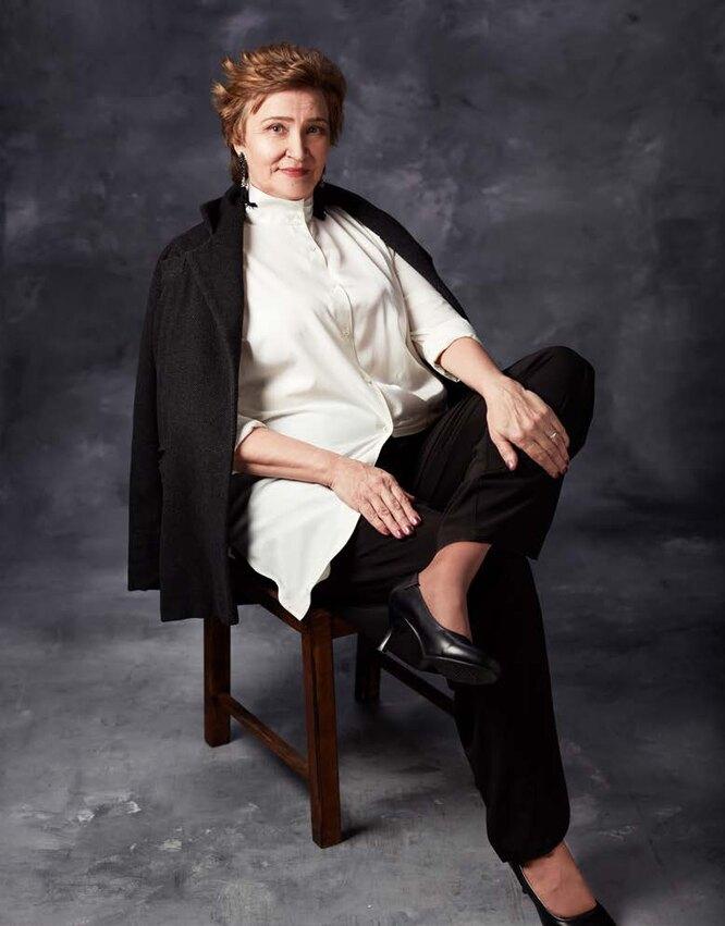 Красивый возраст: Людмила Еделькина, 61 год