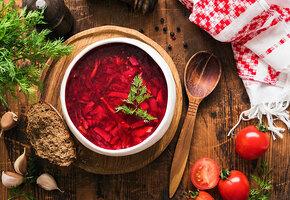Рецепты звёзд: Ника Белоцерковская готовит  постный борщ
