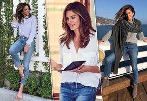 Правила создания образа с джинсами от супермодели Синди Кроуфорд