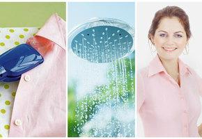 10 способов погладить одежду без утюга