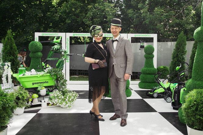 Генеральный директор Greenworks Рада Рожицкая и директор по маркетингу Сергей Беляков