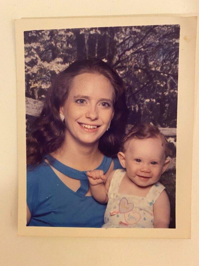 Бетти с дочкой