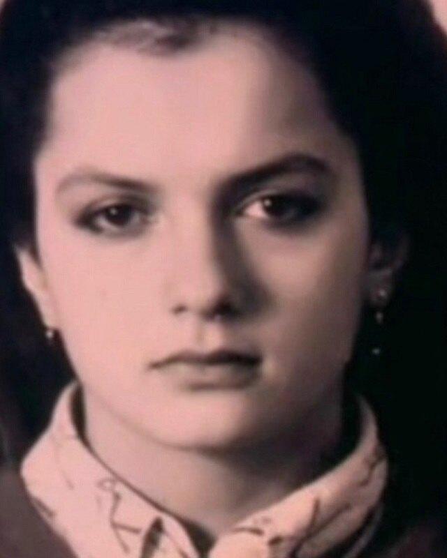 Мария Порошина в юности
