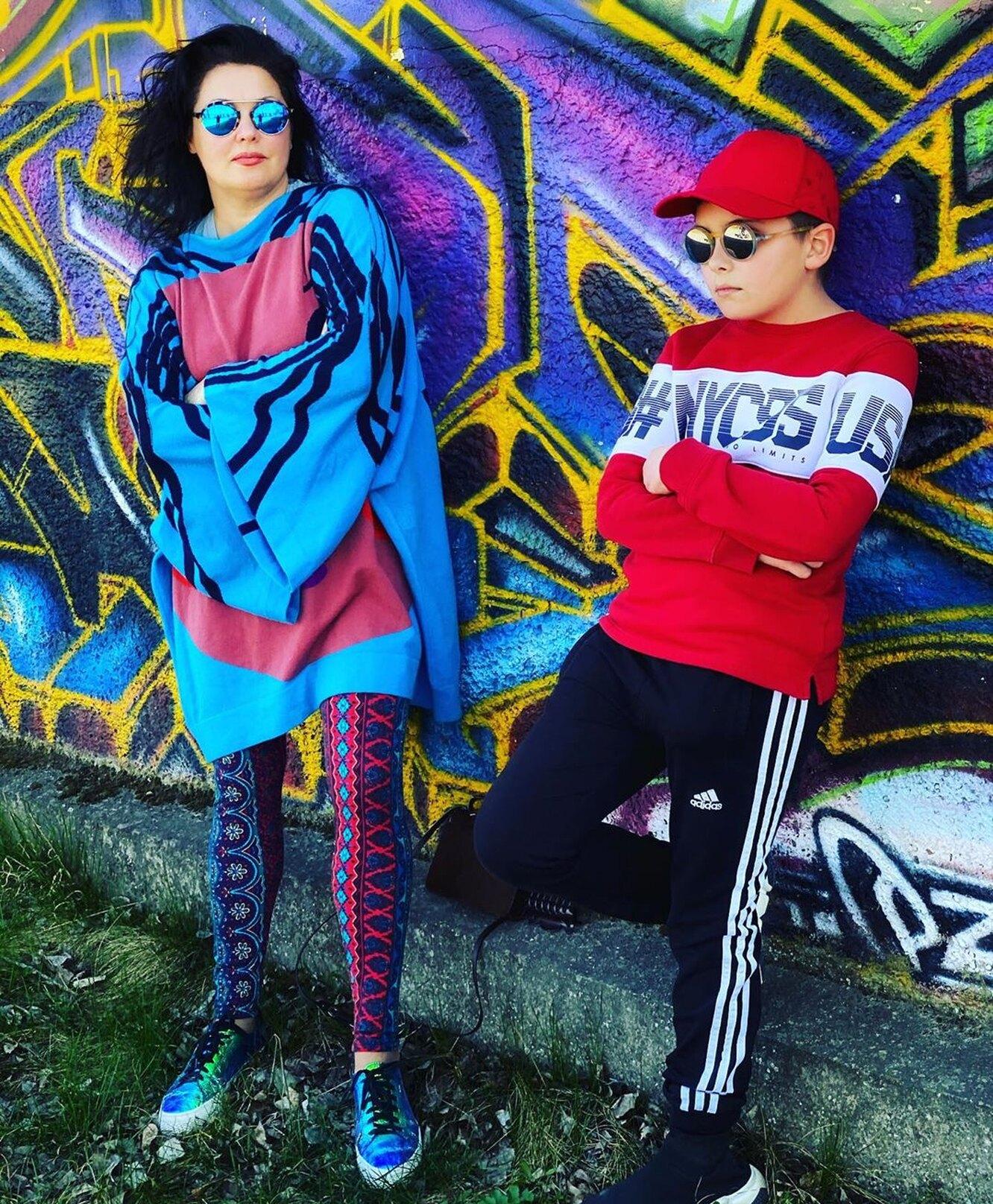 Анна Нетребко с сыном Тьяго фото