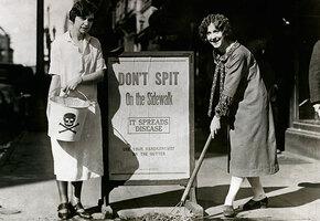 «Ведите себя прилично»: как женщины в 19 веке отучили Нью-Йорк плеваться