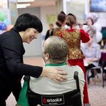 Татьяна Мурадова, волонтер фонда «Вера»