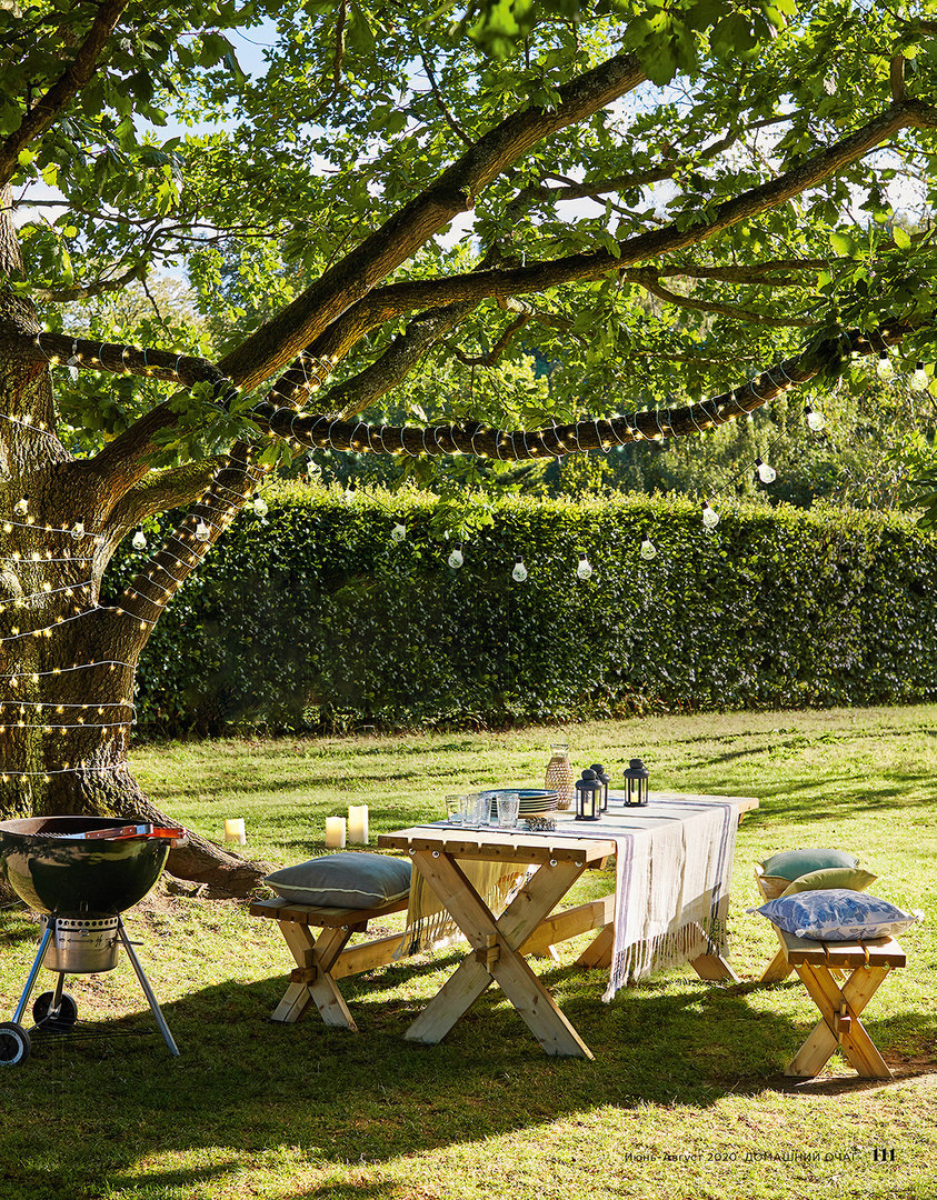 На воздух! Превратите сад вудобное место дляжизни, отдыха иудаленной работы