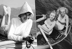 15-летняя Мэрилин Монро, Аль Капоне на рыбалке: неожиданные фото звезд на яхтах