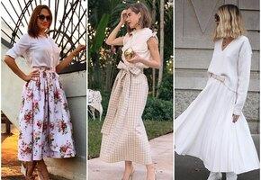 5 простых и стильных юбок, которые можно легко сшить дома