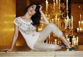 Сати Казанова стала моделью для Topbrands.ru